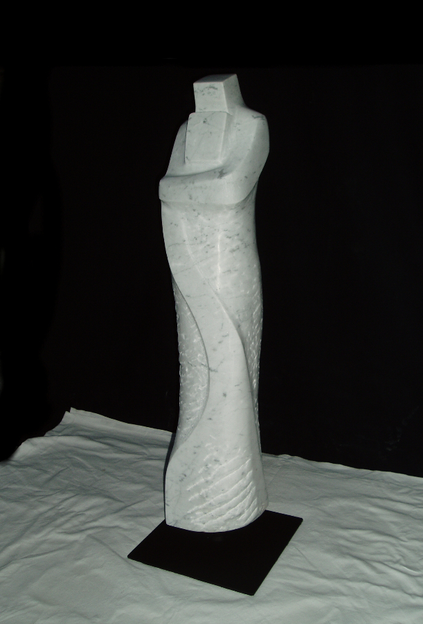 Skulptur aus Carrara Marmor