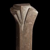 Pokal aus Lunel Kalkstein