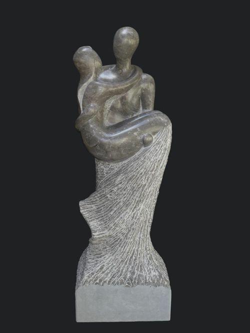 Skulptur aus St. Michel Kalkstein